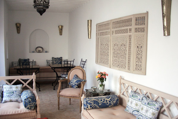 Riad Dining room - Morocco